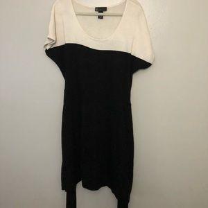 Torrid black and white dress